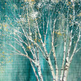 Blue Birch Prints by Julia Purinton