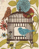 Birds & Blooms IV Prints by Todd Williams