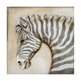 Serengetti Zebra Giclee Print by Susan Hartenhoff