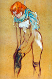 Henri de Toulouse-Lautrec Stockings Poster