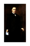 Digitally Restored Presidential Painting of President William Mckinley Poster