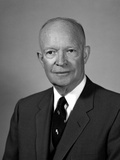 Digitally Restored American History Photo of President Dwight Eisenhower Photographic Print