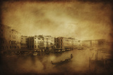 Vintage Shot of Grand Canal, Venice, Italy Photographic Print