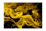 Yellow Smoke Giclee Print by  GI ArtLab
