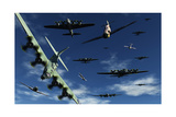 German Sonderkommandos Ram Allied Bombers During World War Ii Print