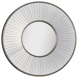Addison Antique Silver Mirror Wall Mirror by Jonathan Wilner