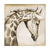 Serengetti Giraffe Giclee Print by Susan Hartenhoff