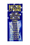 Boston Strong C Prints by  GI ArtLab