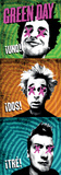 Green Day - 1-2-3 Fabric Poster Posters