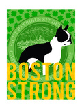 Boston Strong F Giclee Print by  GI ArtLab