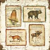 Lodge Memories II Plakat af  Pela