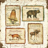 Lodge Memories II Print by Pela Studio