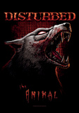 Disturbed - The Animal Fabric Poster Posters