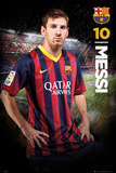 Barcelona Messi 13/14 Posters