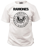 The Ramones - White Presidential Seal Shirt