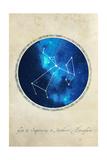 Sagittarius Giclee Print by  GI ArtLab