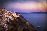 Fira Santorini Photographic Print by  Arabella Studios