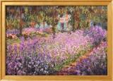 Kunstnerens hage ved Giverny, ca 1900 Posters av Claude Monet