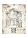 Classical Building 2 Art by Liz Jardine