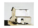 White Barn Giclée-Druck von Sandra Pratt