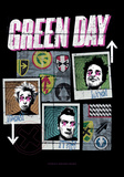 Green Day - Uno - Dos - Tre Fabric Poster Prints