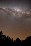 The Center of the Milky Way Above the Sierras, Argentina Photographic Print