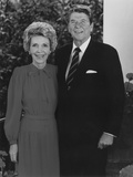 Digitally Restored Photo of President Ronald Reagan and His Wife Nancy Photographie