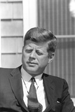 Digitally Restored Photo of President John F. Kennedy Photographic Print