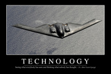 Technology: Inspirational Quote and Motivational Poster Photographic Print