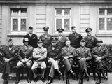 World War II Photo of the Senior American Military Commanders of the European Theater Photographic Print