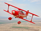 A Pitts Special S-2A Aerobatic Biplane in Flight Near Chandler, Arizona Photographic Print