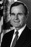 Digitally Restored American History Photo George H.W. Bush Photographie