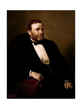 Vintage American History Painting of President Ulysses S. Grant Posters