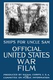 Vintage World War I Propaganda Poster Featuring a Navy Shipyard Poster