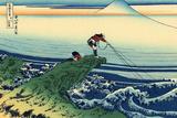 Katsushika Hokusai Kajikazawa in Kai Province Poster Print
