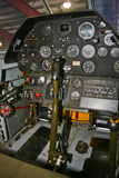 Cockpit of a P-40E Warhawk Photographic Print
