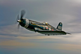 A Vought F4U-4 Corsair in Korean War Markings Photographic Print