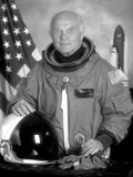 Digitally Restored American History Photo of Astronaut John Glenn Photographic Print
