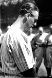 Lou Gehrig Moment of Silence Sports Poster Photo