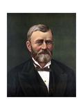 Digitally Restored Color Portrait of President Ulysses S. Grant Posters