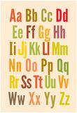 Alphabet Kunstdrucke