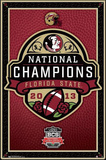 Florida State University Football National Champions Posters