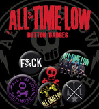 All Time Low - Baltimore Badge Pack Badge