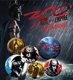300 Rise Of An Empire Badge Pack Badge