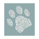 Dog Paw (Commands) Prints