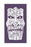 Tiki Head Posters