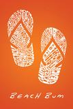 Flip Flops Print