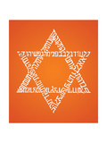 Star Of David Print