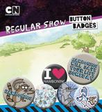 Regular Show - Hamboning Badge Pack Badge