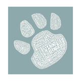 Dog Paw Posters